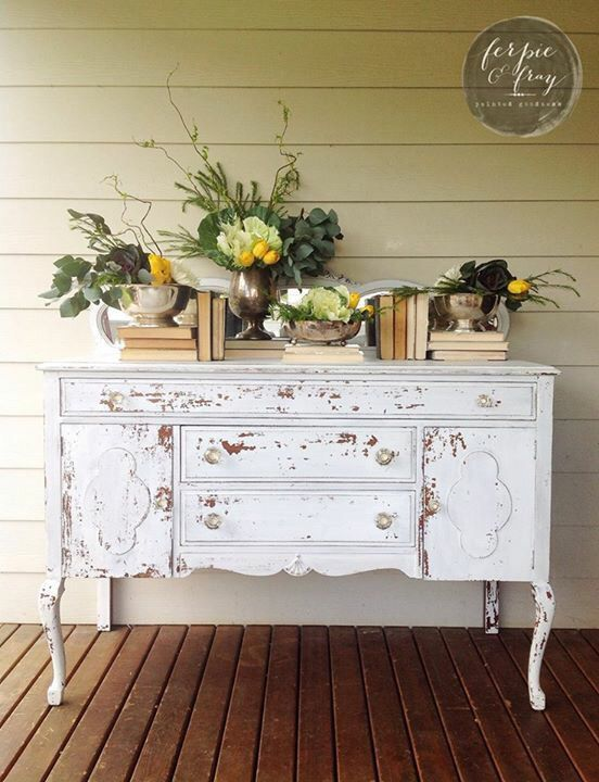 Dresser painted by Amanda of Ferpie and Fray in custom mix of ...