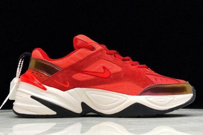 """Buy Nike M2K Tekno """"Red Suede"""" AV7030 600 Online"""