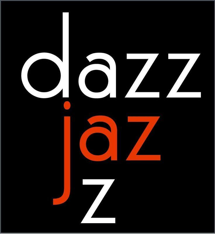 I designed a logo for our jazz band in Dar es Salaam, Dazzjazz.