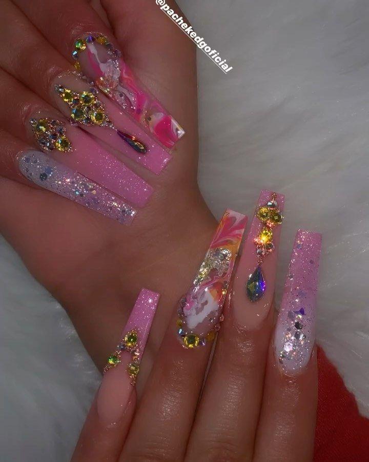 Edgar Pachek Nails Art On Instagram Pink Pachekedgoficial Location Orlando Florida Pachekedgo In 2020 Nail Designs Nail Art Summer Nails