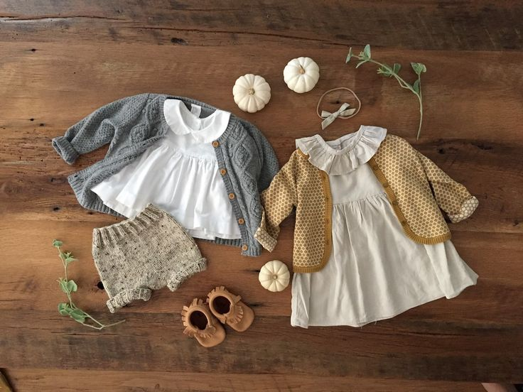 Sweet Hannah B Children's Clothes - Free Babes Baby Bows - Fall outfits - Fall Dresses - Xan's Eye Photography