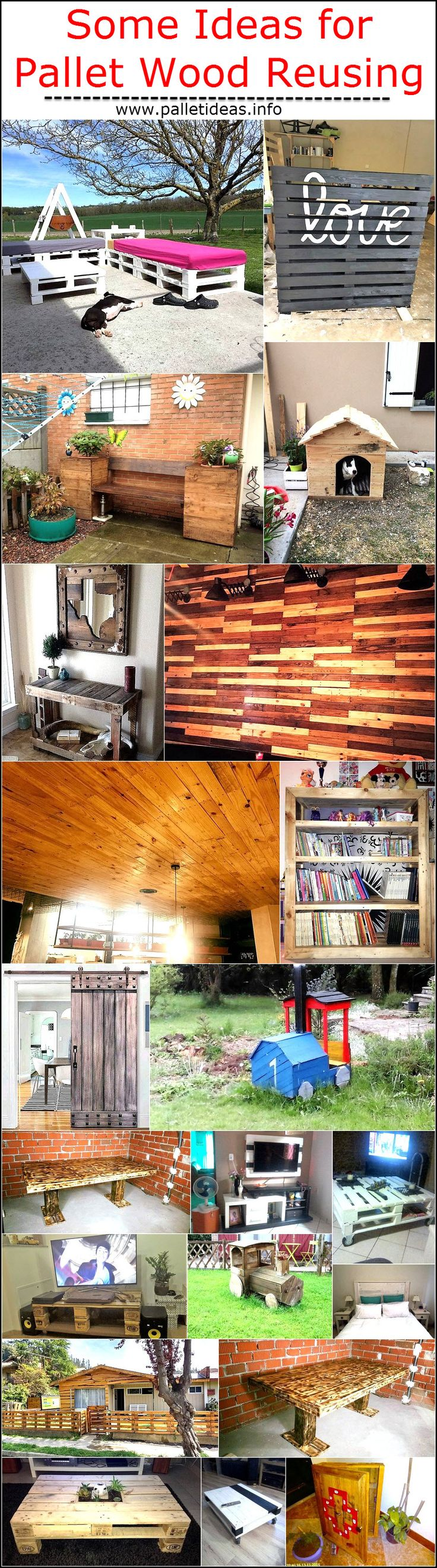 Wooden transport pallets have become increasingly popular for diy - We Have Always Emphasized On Recycling The Shipping Wood Pallets Here We Have Brought You