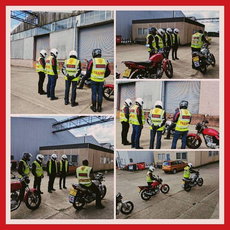 Today's CBT at Formula Fast Go Karting #MiltonKeynes #inshot  #rebeldoggriders #125cc #motorcycletraining #CBT #ride #roadride #mashtherebeldogg  #follow4follow #like4like  #family