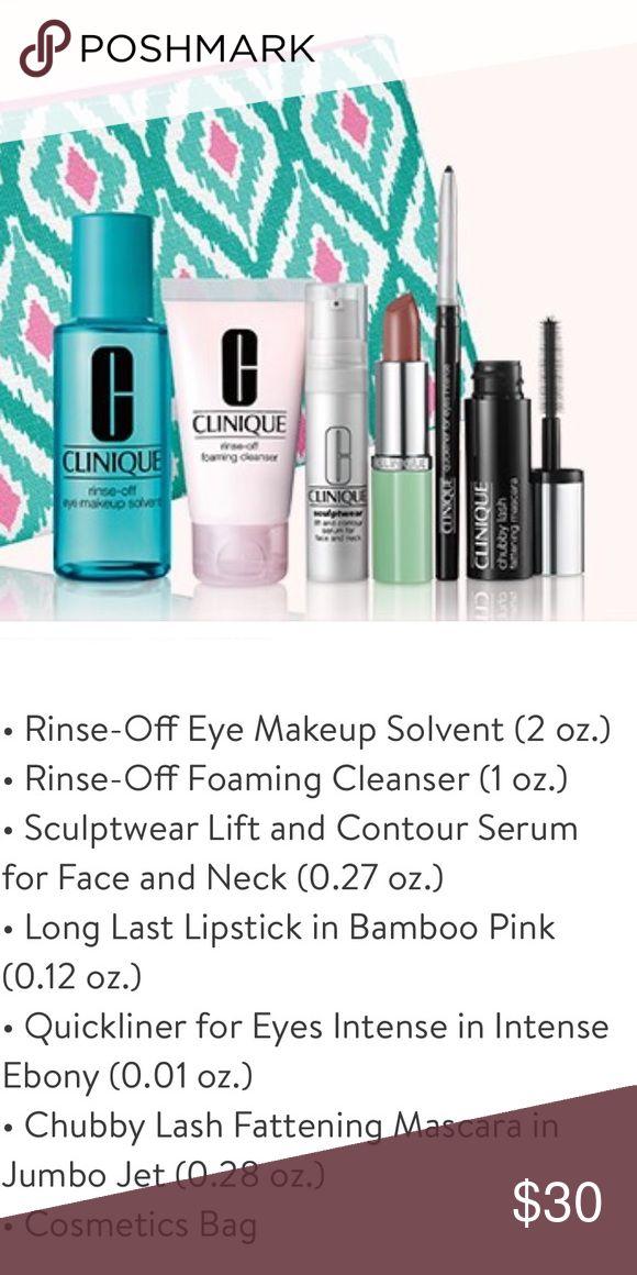 Limit Time💥Clinique Make up skin care travel set Brand New!✨ Clinique Makeup