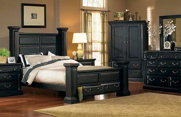 Torreon Antique Black Bed | Kerry Lane Design Inspiration! | Pinterest | Black  bedroom furniture, Fashion bedroom and Room store - Torreon Antique Black Bed Kerry Lane Design Inspiration