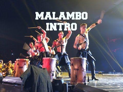 Ricky Martin | Dancers | Malambo Intro | Bailarines de Ricky Martin | Las Vegas - YouTube