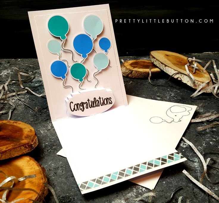 Have you used the Pop-up creator in Silhouette yet? Well today I show you have to make this cute baby card with a matching Pop-up sentiment.