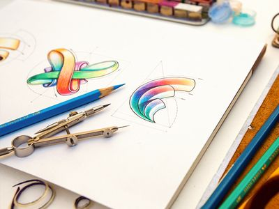 Logotypes #gorgeous #sketching #colors