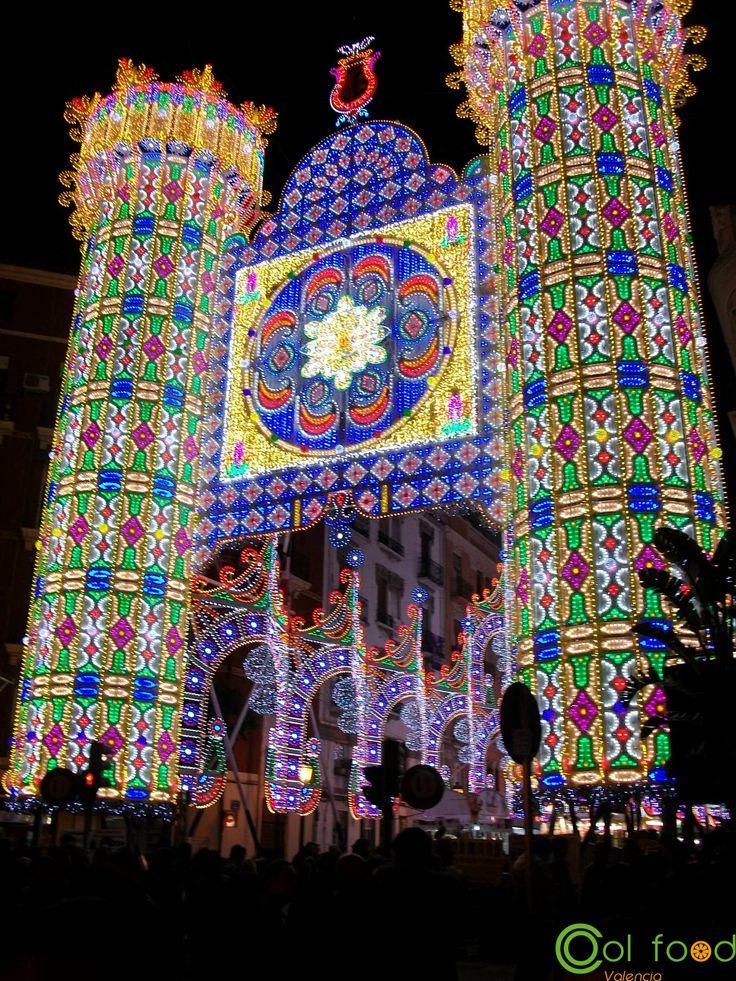 #fallas #lights #valencia