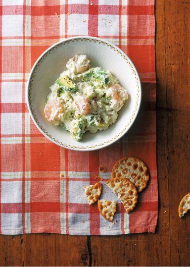 アボカドとえびのクリーミーポテトサラダ のレシピ・作り方 │ABCクッキングスタジオのレシピ | 料理教室・スクールならABCクッキングスタジオ
