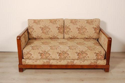 Divano trasformabile in letto. Design anni '40. Duplex-brevettato-Made in Italy