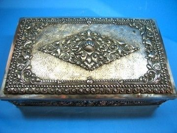 This antique silver cigar box is perfect for storing all your tinkers!  http://www.bonanza.com/listings/Antique-Djokja-Yogya-Silver-840-Cigar-Box-Sukarno-Gift/83755231