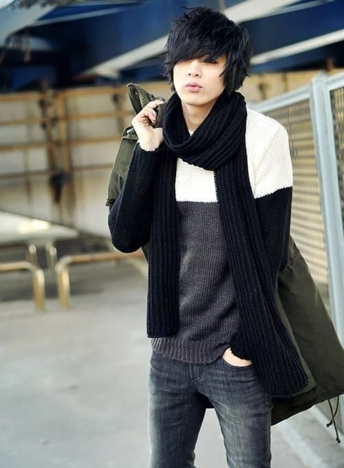 78+ Images About U2606Ulzzang Style U0026 Korean Fashionu2606 On Pinterest | Baggy Sweaters Cute Asian ...