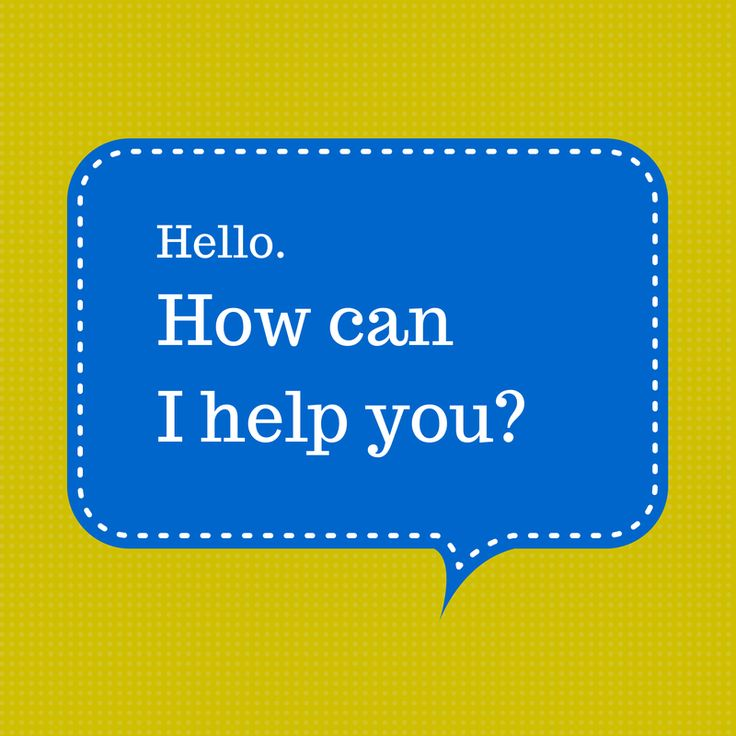 "The Most Effective Websites Say, ""Hello and How Can I Help You?"""