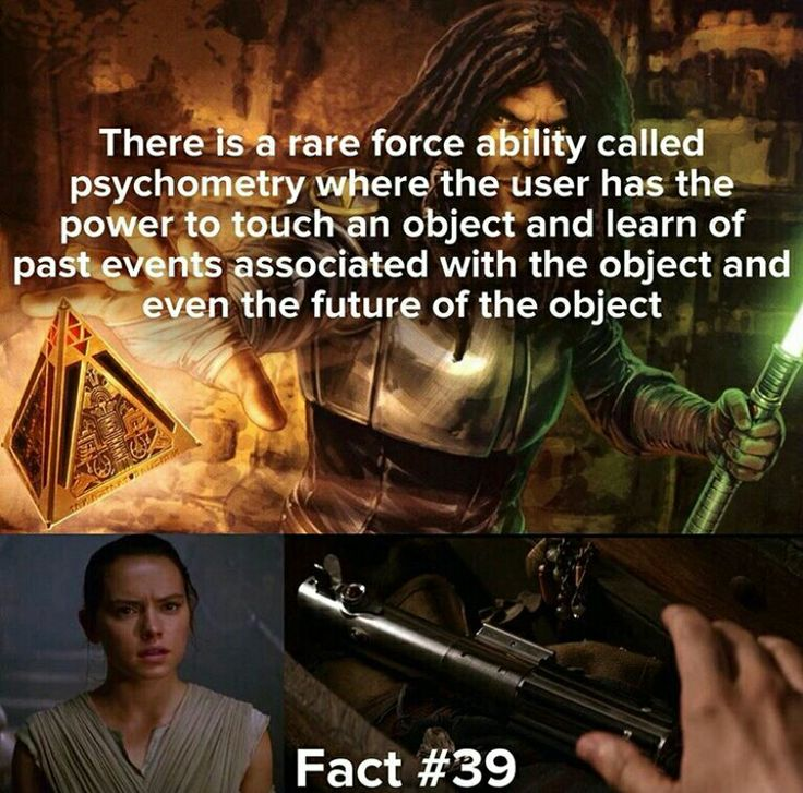 Seeing that Rey has this power is just amazing // Star Wars Facts