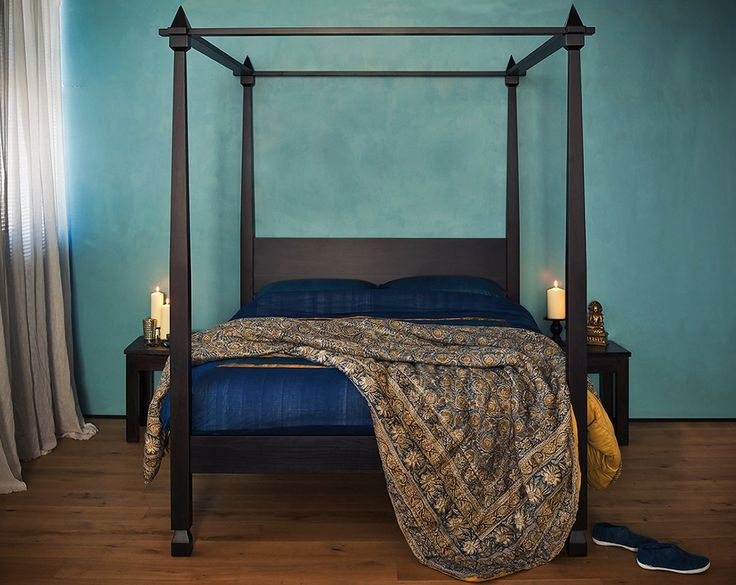 Raj - India inspired bedroom