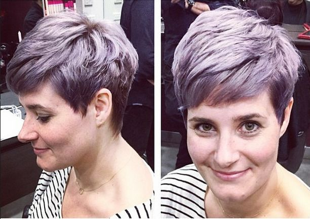 And now for something a little different... This gorgeous lavender hue on @georgie_campbellw by @bec.moses out of our Carlingford salon! #hairbyphd #hairbyphdcarlingford #hairdresser #carlingford #parramatta #westernsydney #sydney #sudneybeauty #sydneyhair #purplehair #pastelhair #purplehairdontcare #purplecrop #crop