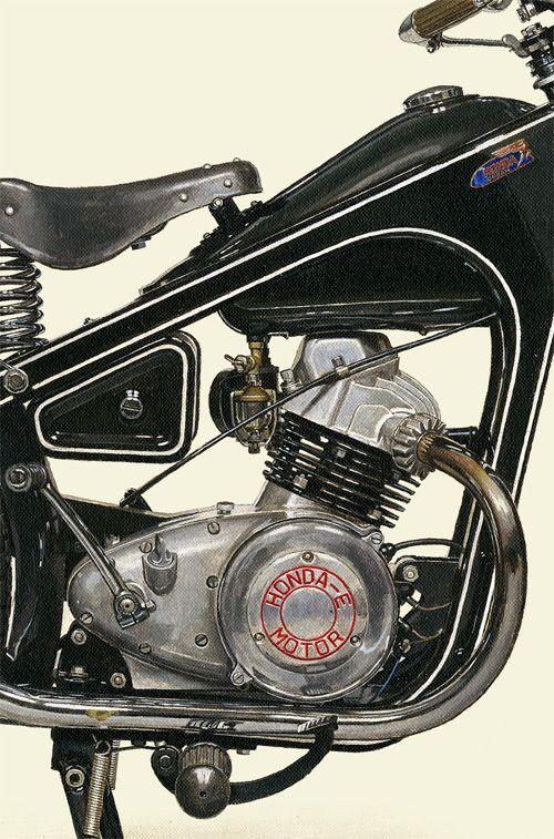 1951 HONDA DREAM E | Motorcycle...