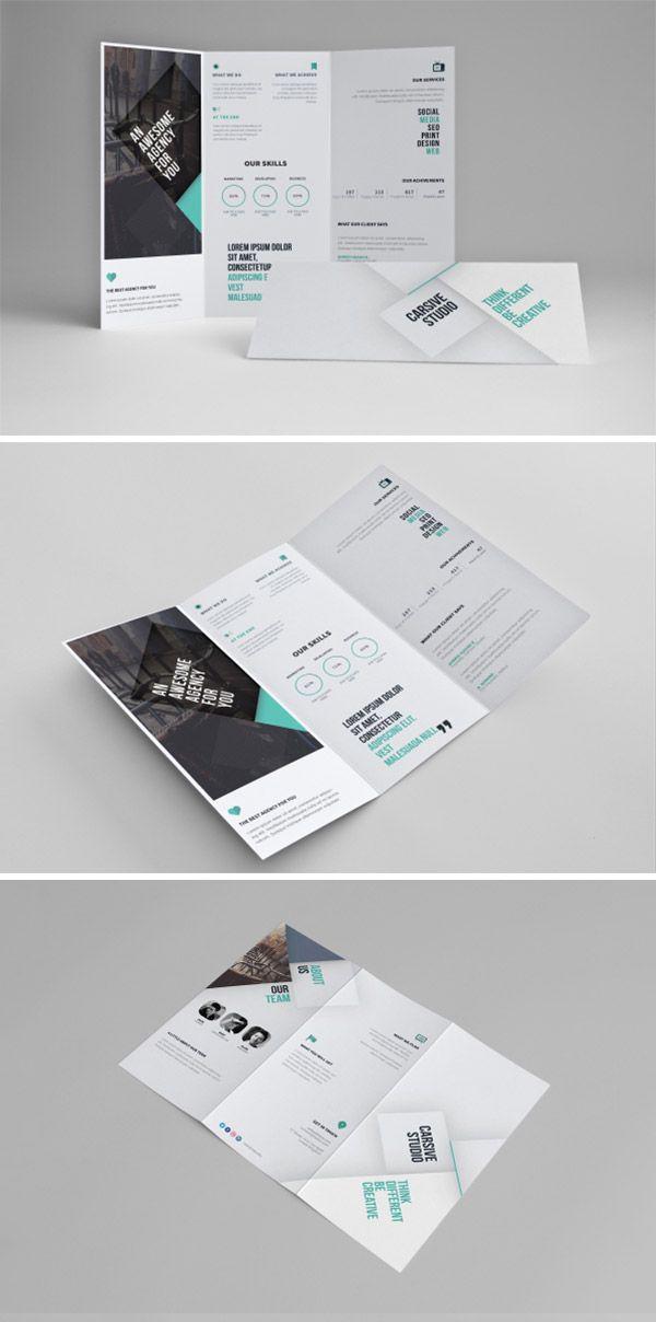11-clean-tri-fold-template