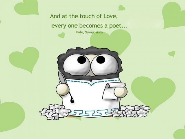 funny love quotes- Plato, Symposium