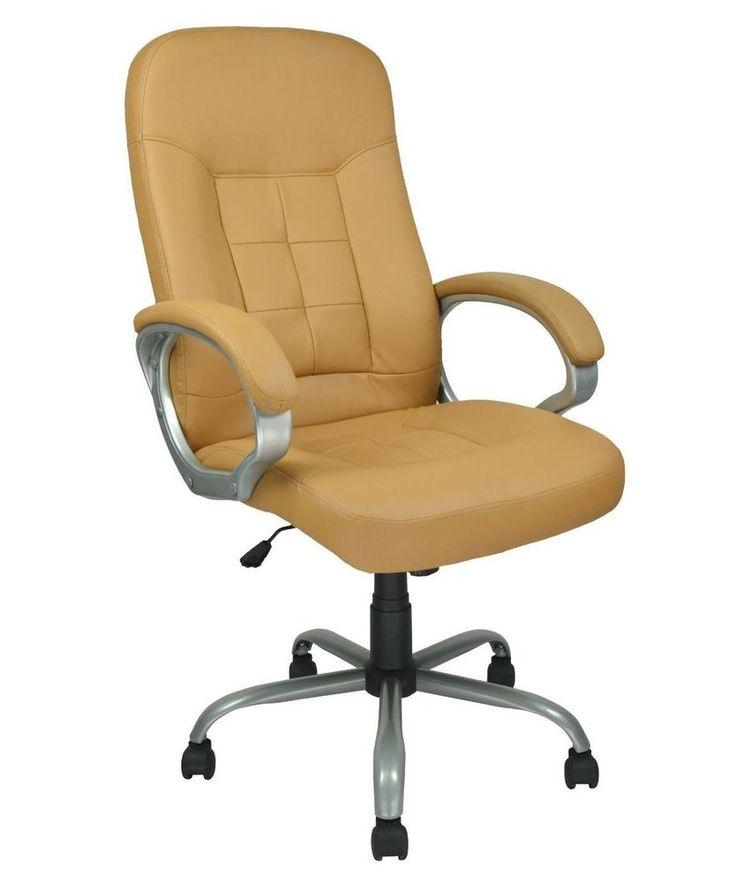 Ergonomic #Leather #Office #Chair Desk Computer #Seat Rest Arms Work Adjustable #ebay