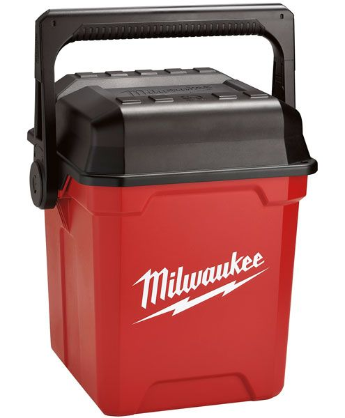 "Milwaukee has come out with a new 13"" tool box that offers vertical tool organization and a convenient place to rest your butt."