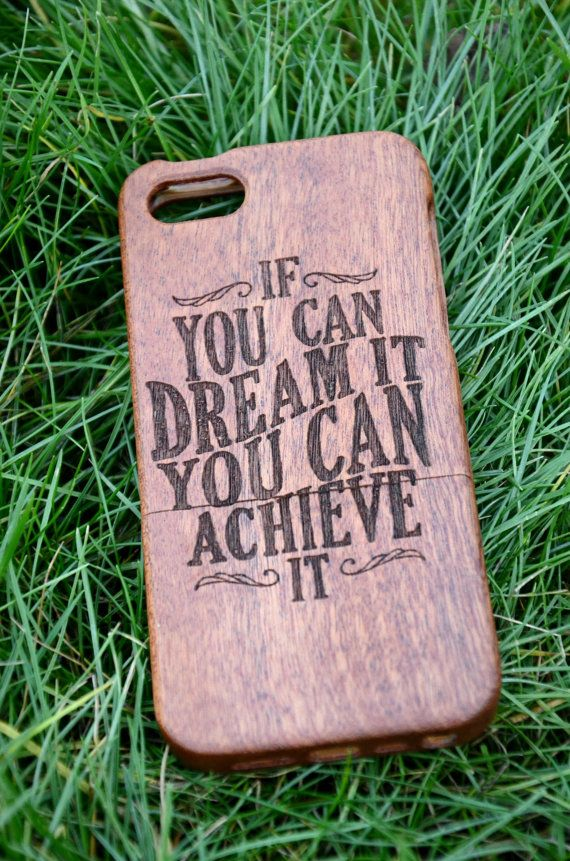 Engraved Wooden Case iPhone 6 6s Inspirational cases Custom engraved case…