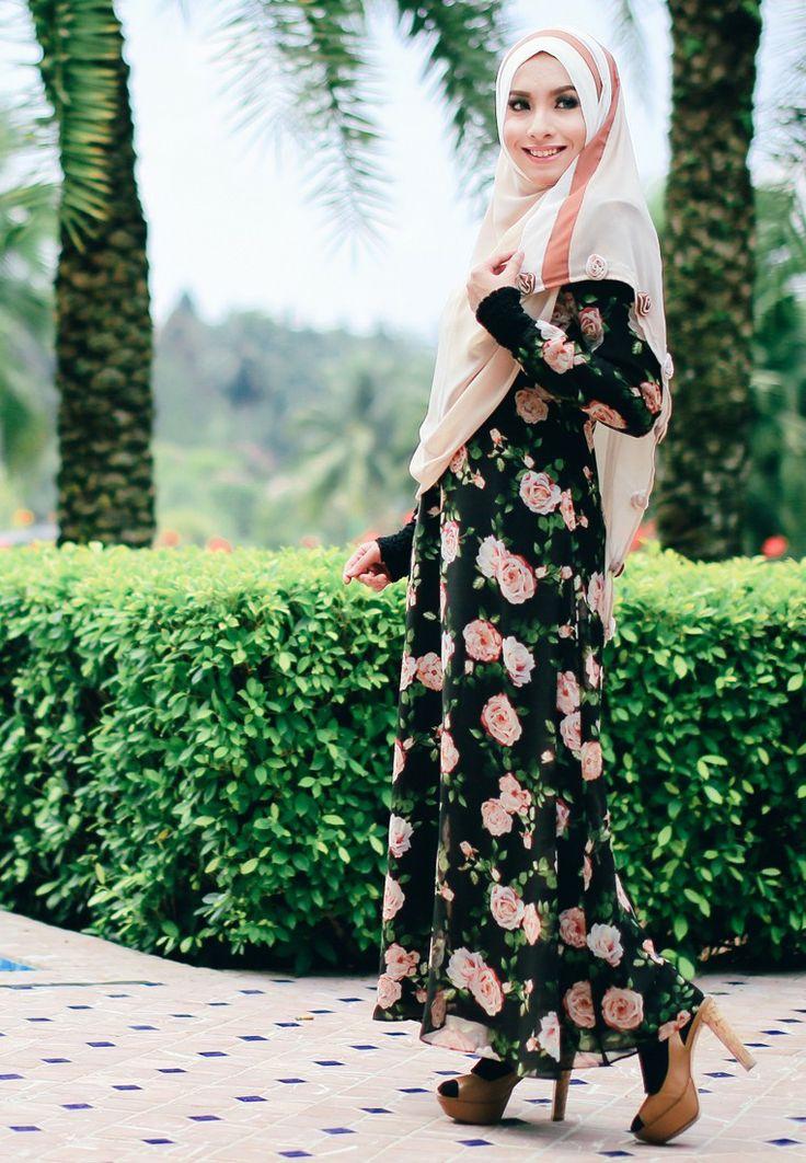 1 shoulder maxi dress zalora