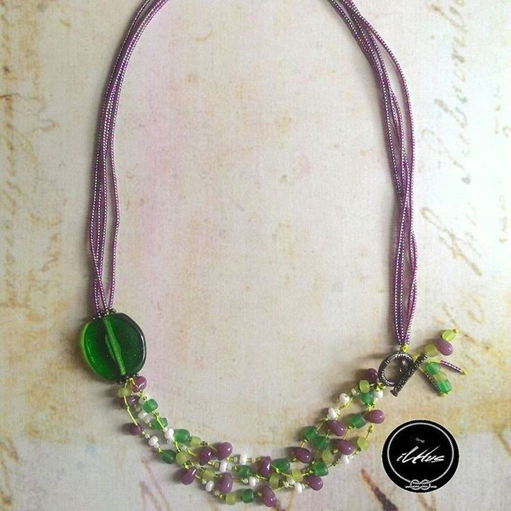 Love the green n violet?