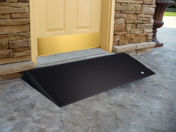 Features:  -Rubber Threshold Ramp with Beveled Edges.  -Slip resistant and made entirely of recycled tires.  -Made of 100 % recycled rubber.  -Non-skid surface.  -Intended for indoor or outdoor use.                                                                                                                                                        More