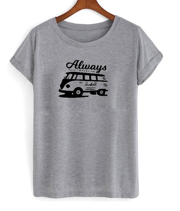 always travel sunbelt t-shirt