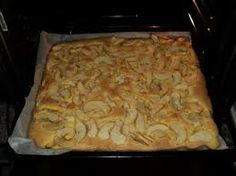 Appelcake op bakplaat