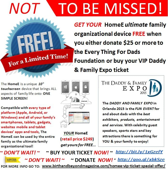 Don't miss this opportunity! http://www.birthandbeyondmagazine.com/homee-vip-ticket-special-offer