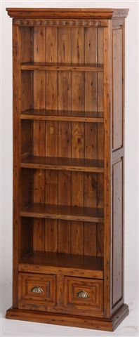Perfect for the office or living room, this #reclaimed pine bookcase with two drawers sells fast at a ridiculously low price! Find them on our website! www.antiquedirect.ca #Vancouver #Sale #Furniture