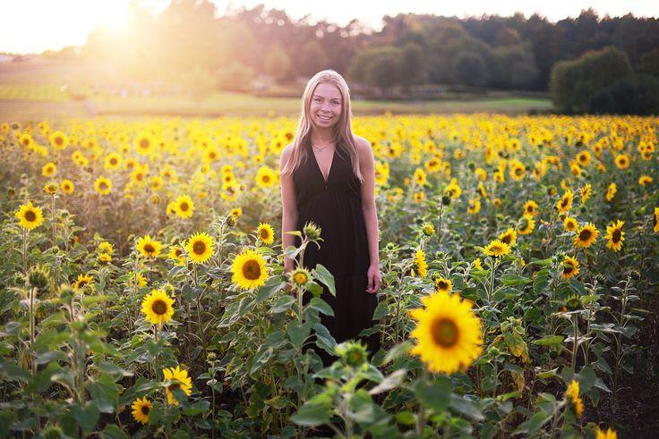Fotografering bland solrosor | elinjohansson Blog