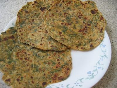 Spinach roti via Veggie Cuisine | Food | Pinterest | Spinach, Cuisine ...