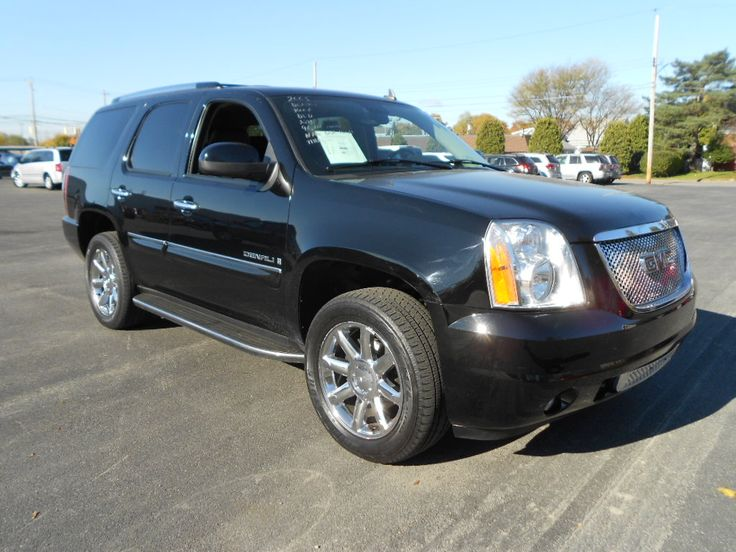 2008 Gmc Yukon Denali Schenectady Ny Gmc For Sale Gmc Vehicles