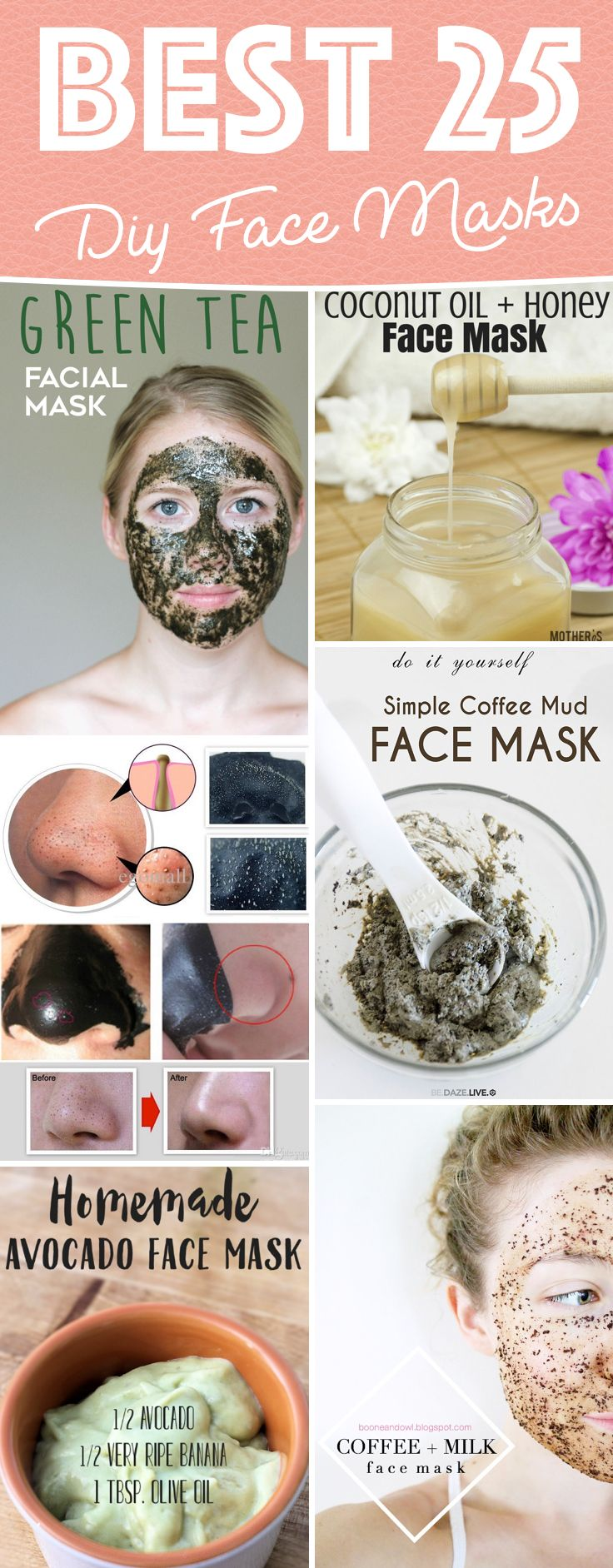 504 best diy images on pinterest crafts creative ideas and bricolage 25 diy face masks casting a magical spell on your skin solutioingenieria Images