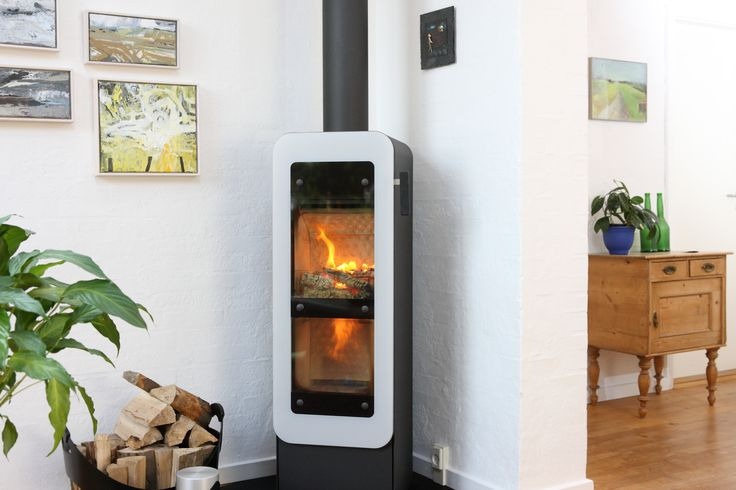 """#Bionic """"Fire is an #eco friendly #woodburningstove from #RAIS. #efficient"""