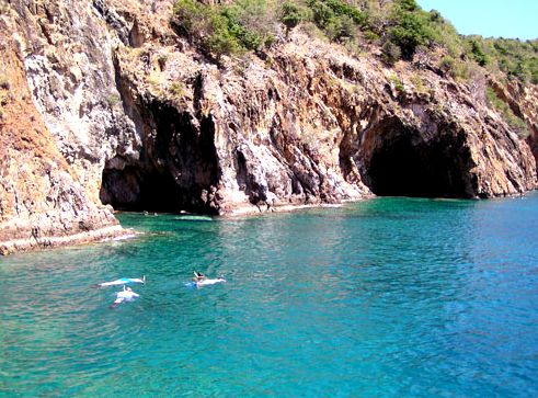 """the Caves"" at Norman Island, BVI's ...been there and snorkled all around the caves!"