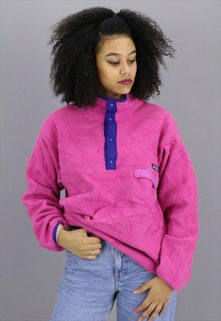 Vintage+Patagonia+Fleece+1/4+zip+Jacket+Z233