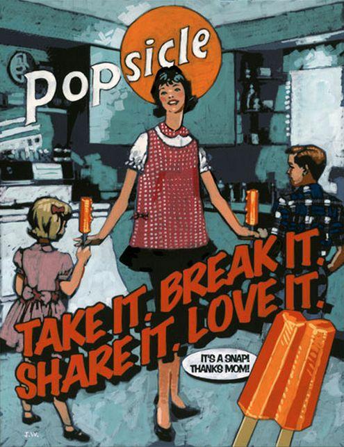 Peggy Olson's Popsicle ad - Mad Men, Season 2