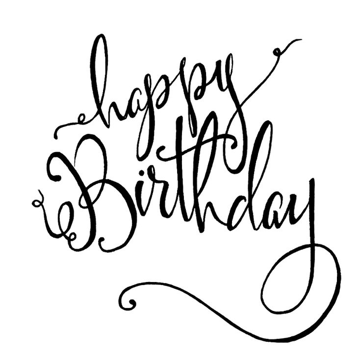 Best 25 Happy birthday calligraphy ideas – Happy Birthday Card What to Write