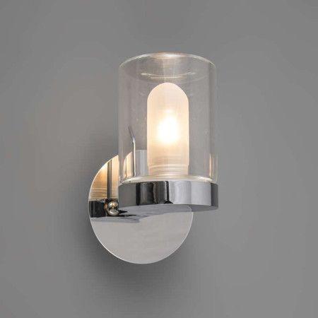Badkamer spot euro in huis pinterest badezimmer lichter und lampen - Glas betegelde badkamer bad ...