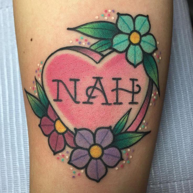 36 best Candy heart tattoo images on Pinterest | Heart tattoos ...