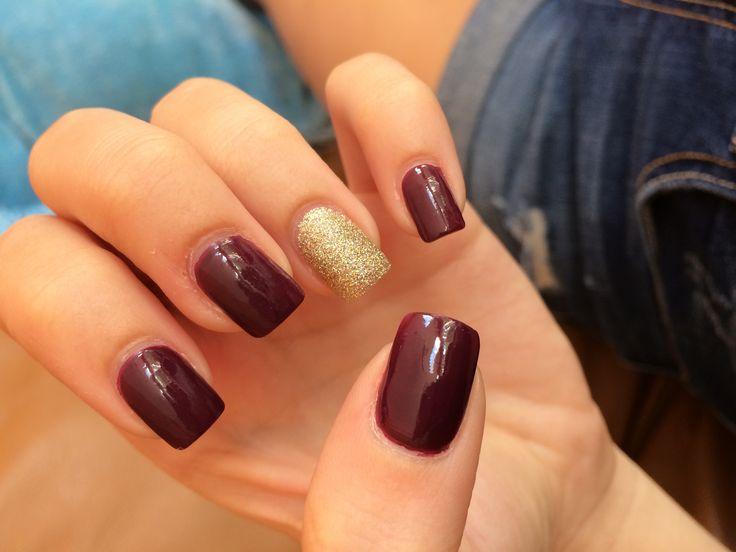 Maroon and gold nails…. alumni weekend?!?… | Pepe