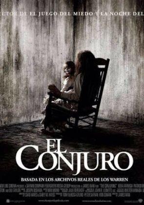 El Conjuro 2013 USA - Terror - basada en una historia real. Como la vida real puede ser mas extraña que la ficcion y mas aterradora.