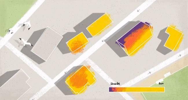 Google mapeia o potencial de energia solar dos telhados de casas e prédios