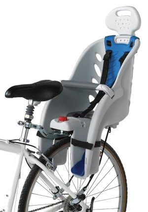 Schwinn Deluxe child carrier - Baby / child bike seat finder and reviews - Cool Biking Kids
