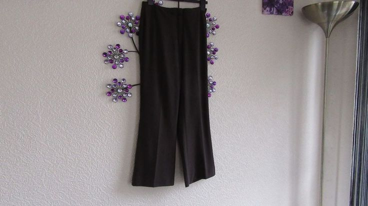 Marks Spencer  Mocha  Summer  Trousers Size  8 Long  #MarksandSpencer #OtherCasualTrousers